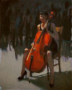 Jennifer Diehl, Suite Bach, oil, 16x20. http://www.jenniferdiehl.com/