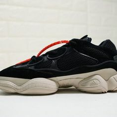 07f96230b Adidas Yeezy 500 OW black white orange DB2908 Mens Womens Winter Running  Shoes