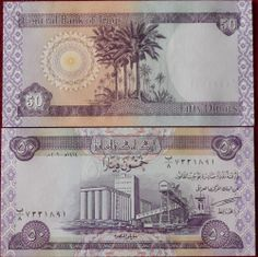50 New Iraqi Dinar Notes Uncirculated Daily Fast Ship Get Upto 6 Free