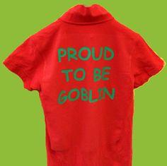 Una maglietta..... orgogliosa