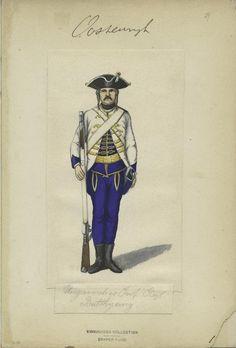 Austria, 1756-1760 Hungarian Infantry