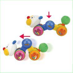 Baby Toys Online Ks Kids Press and Go Inchworm www.greenanttoys.com.au