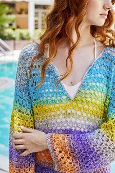 Orient Beach Tunic (Crochet)