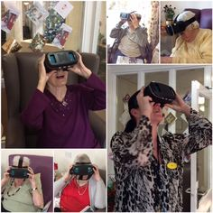 Care home residents given a virtual glimpse of the future - Birch Green Care Home Skelmersdale