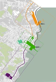 Terceiro Lugar no concurso para a Requalificação Urbana do Centro Histórico de São José - SC