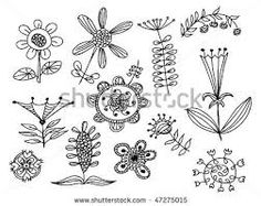hand drawn flowers - Google Search