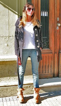 Street Chic: Buenos Aires - Elle