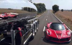 La Ferrari Aperta si rispecchia nei modelli del passato guidata da Seb Vettel La Ferrari ha rilasciato questo video evocativo della La Ferrari Aperta guidata da Sebastian Vettel che guidando in pista ed in strada si rispecchia in numerosi modelli del passato. Avevamo pubblica #ferrari #laferrari #vettel