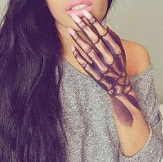 tumblr tattoos for girls - Google Search
