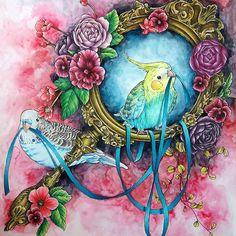#coloriage #adultcoloring #adultcoloringbook #menuetdebonheur #watercolor #colorpencil #arttherapie #arte_e_colorir #divasdasartes #majesticcoloring #boyan_bayan #desenhoscolorir #desenhosparacolorir