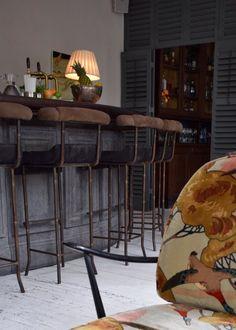 Bourne & Hollingsworth Buildings London restaurant interiors bloggers guide rustic bohemian grey