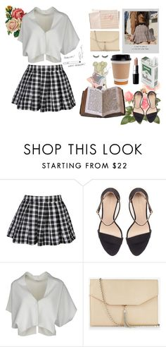 """""""Uptown Girl"""" by izzy-boo-kitty ❤ liked on Polyvore featuring Zara, Meggie, Vionnet, MAC Cosmetics, Hahn, Express and shu uemura"""
