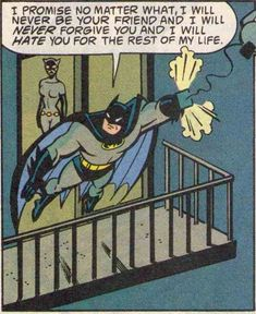 teleporpoise:  Back when Batman was a 12 year old girl…
