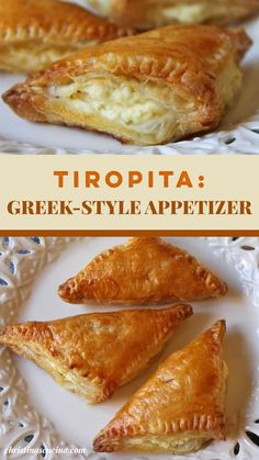 Puff Pastry Recipes Savory, Puff Pastry Appetizers, Cheese Appetizers, Yummy Appetizers, Appetizer Recipes, Easter Appetizers, Feta Cheese Recipes, Easter Recipes, Dip Recipes
