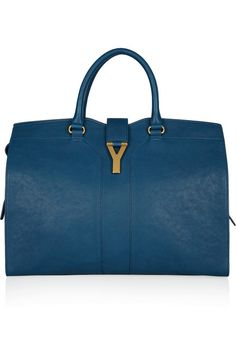 Also in my dreams - Yves Saint Laurent  Cabas Chyc leather tote
