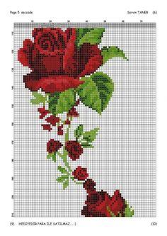 1 million+ Stunning Free Images to Use Anywhere Cross Stitch Rose, Cross Stitch Borders, Cross Stitch Flowers, Cross Stitching, Cross Stitch Embroidery, Cross Stitch Patterns, Ribbon Embroidery, Free To Use Images, Prayer Rug