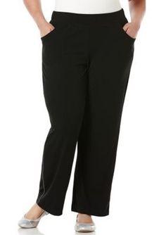 Lauren Jeans Co.  Plus Size Comfort Pull-On Pant