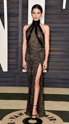 Who: Jenna Dewan TatumWore: Zuhair Murad CoutureWhere: 2015 Vanity Fair Oscar Party via @stylelist