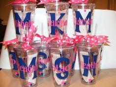 Inexpensive Cheerleading Gift Ideas | Personalized Tumbler 16 oz w/Straw Bridal Party, Birthday, Teacher … | best stuff