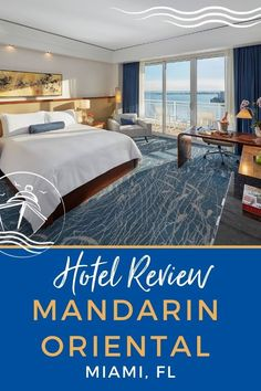 Mandarin Oriental Miami Hotel Review | EatSleepCruise.com. Our latest Mandarin Oriental Miami Hotel Review details why this luxurious 5-star hotel ranks among our favorite hotels near the Miami cruise port in FL. #Florid #Miami #hotelreview #cruise #travel #eatsleepcruise Cruise Miami, Best Cruise, Cruise Port, Cruise Travel, Cruise Vacation, Bermuda Vacations, Bahamas Vacation, Cruise Excursions, Cruise Destinations