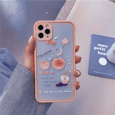 Kawaii Phone Case, Girly Phone Cases, Pretty Iphone Cases, Diy Phone Case, Iphone Phone Cases, Phone Covers, Accessoires Iphone, Foto Baby, Aesthetic Phone Case