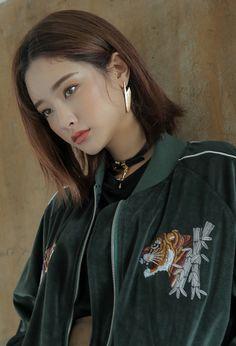 Zip-Up Tiger Embroidery Jacket | STYLENANDA
