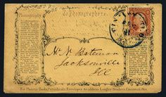 United States, Scott 11A. U.S.; General Issues, 1851, 3c, Type II on Advertising Cover, #11A, 3 margin copy tied by blue Cincinnati O. DEC 8 cds to advertising phonography, early item, Fine to Very Fine, PF (2013) cert. Estimate $150-180.