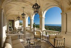 Project 31 - mediterranean - patio - santa barbara - by Giffin & Crane General Contractors, Inc.