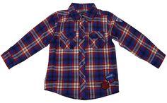 Hemd rot blau kariert BLUE SEVEN Größe 62 68 74 80 86 Jungenhemd NEU Baby