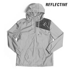 Vector Windbreaker Jacket // Reflective Silver – IMPERIAL MOTION | Store