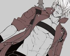 Devil May Cry 3 - Dante - Male Anime and Fantasy Wallpapers and ...