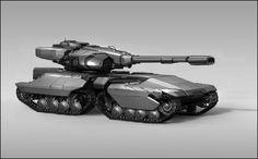 tank Vehicle Design by sambrown