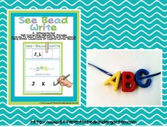 See Bead Write and Read Bead Write Differentiated Activities for Word Work Stations. A Differentiated Kindergarten: Differentiated Word Work and A Freebie-Kinder Daily 5 Book Study Chapter 6