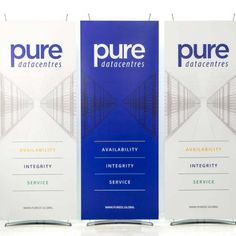 The Konnect banner display system. Hi tech banner displays - a stylish alternative to roll up banners. Perfect for tech & engineering company marketing. Pull Up Banner Design, Pop Up Banner, Tech Branding, Tech Logos, Tech Tech, Tech Art, Rollup Design, Pure Data, Tech Hacks