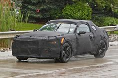 Spied! Complete 2015 Ford Mustang Test Mule Spotted in the Wild - WOT on Motor Trend