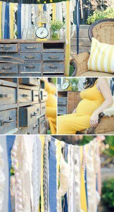 Gender Neutral Vintage Inspired Baby Shower #BeautifulBabyShower
