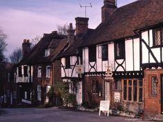Chilham, Kent. Village is the set of Miss Marple