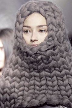 Balaclava Russian Doll....Mel, this is what I imagine when you talk about going to far with crocheting. ;)