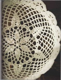 Adornos en Crochet - Alejandra Franco-Tejedora - Picasa Web Albums...Beautiful lace bowl and a FREE PATTERN!!