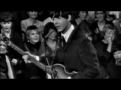 The Beatles -- I Saw Her Standing There -- my favorite Beatles song....