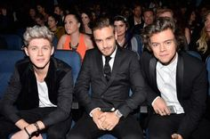 Niall, Liam & Harry at the AMAs