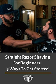 Do you want a close and refreshing shaving experience? Learn more about how to achieve a traditional men's beard style with a straight razor. Beard Trimming Guide, Beard Trimming Styles, Beard Styles For Men, Best Straight Razor, Straight Razor Shaving, Shaving Razor, Trim Beard Neckline, Beard Tips, Shaving Tips