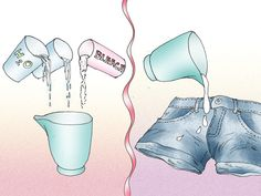 How to Turn Jeans into Shorts.  And decorate, distress & bleach.