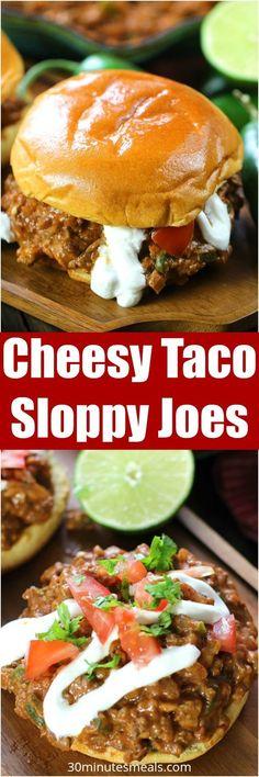 Cheesy Taco Sloppy J