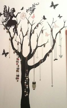 Wall decoration for girls #wall #decor #girls #room #creative