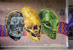 Graffiti, Street Art, Lion Sculpture, Statue, Mad, Murals, Sculptures, Art, Graffiti Artwork