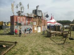 Big Chill @ Defqon 1 with Aap, Noot, Feest
