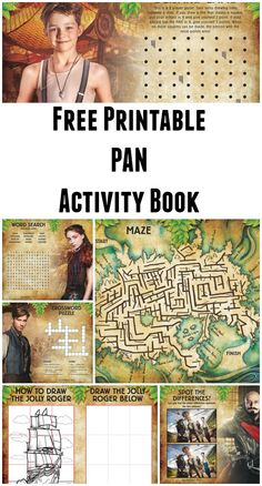 activity book with crosswords, wordsearch, maze, spot the difference ...