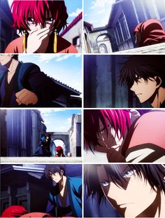 Akatsuki no Yona- Hak knows Yona so well he can tell she is crying about something to do with Soo-won