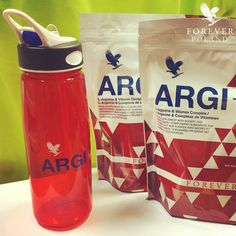 NEW Forever ARGI+ Water Bottle